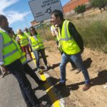 CA&CCA EN MASTURIA: Pablo Seguí ha supervisado el avance de los trabajos en la CV-395 para la mejora de los accesos a Chulilla