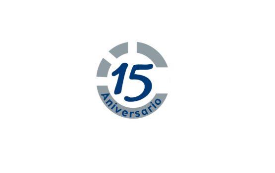 Logo 15 aniversario CA&CCA
